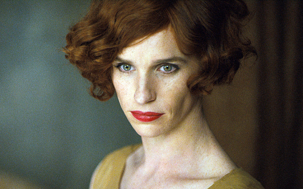 Eddie Redmayne as Lili Elbe in The Danish Girl  Photo: UPI Media