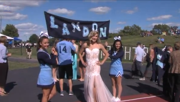 Landon Patterson Homecoming Queen